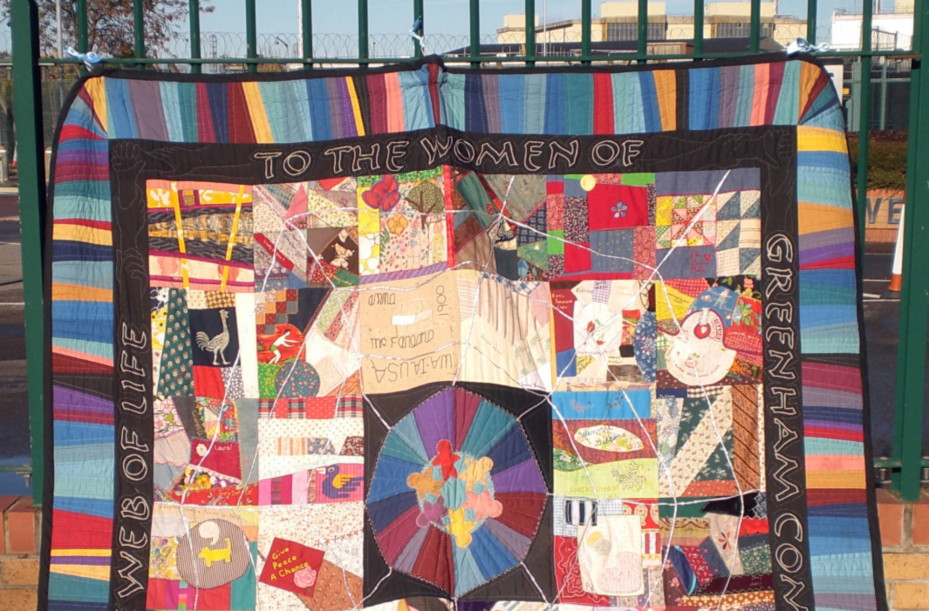 Women of Greenham quilt