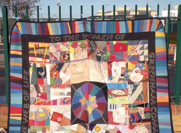 Women of Greenham quilt