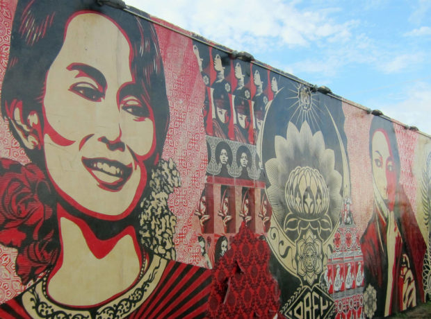 The Writing of The Lady of Burma: The Story of Aung San Suu Kyi