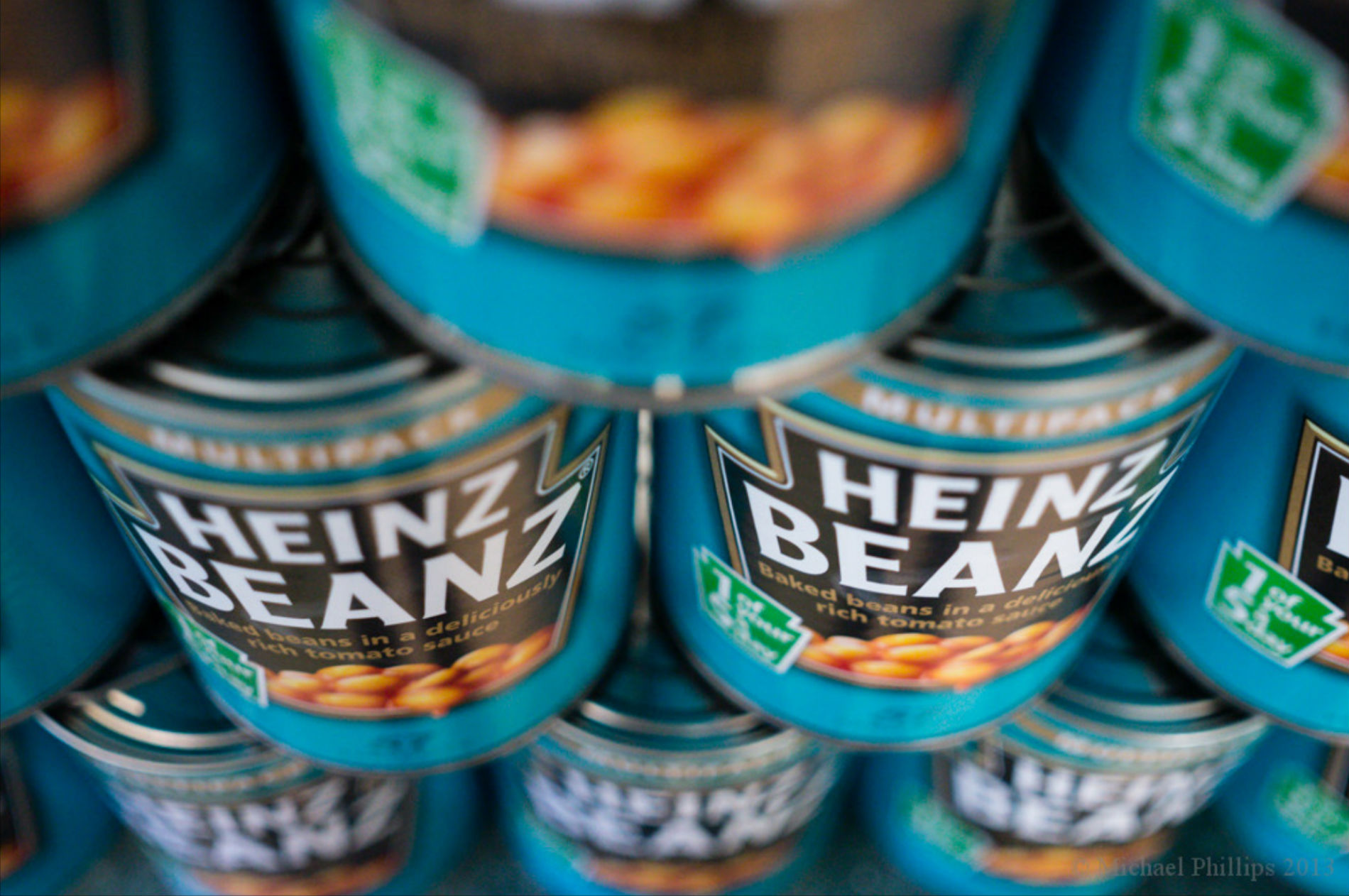 Baked bean cans