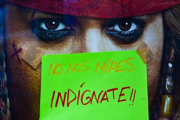 Indignate pirata
