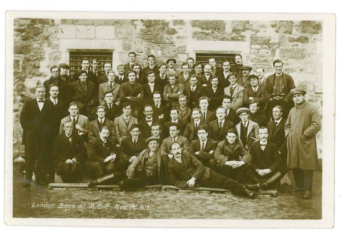 Conscientious objectors from the first world war
