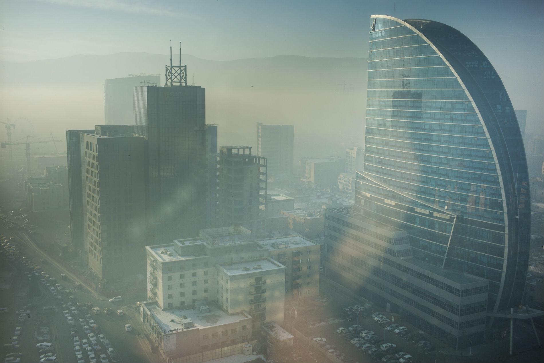 Ulaanbaatar Skyline Photo by Sven Zellner