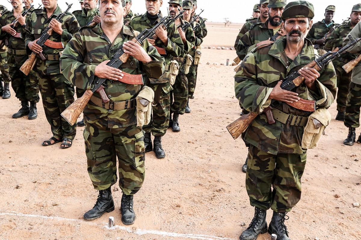 A military parade near Tifariti