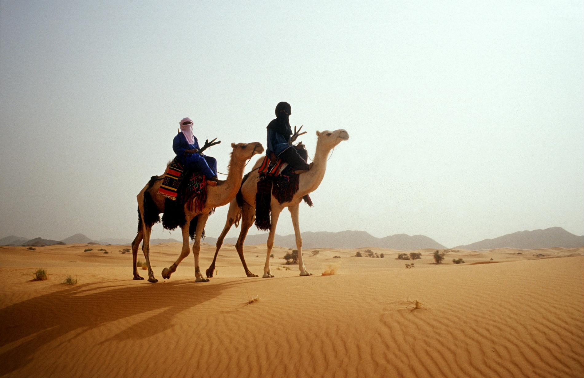 Nomads on Camels ©Henrietta Butler