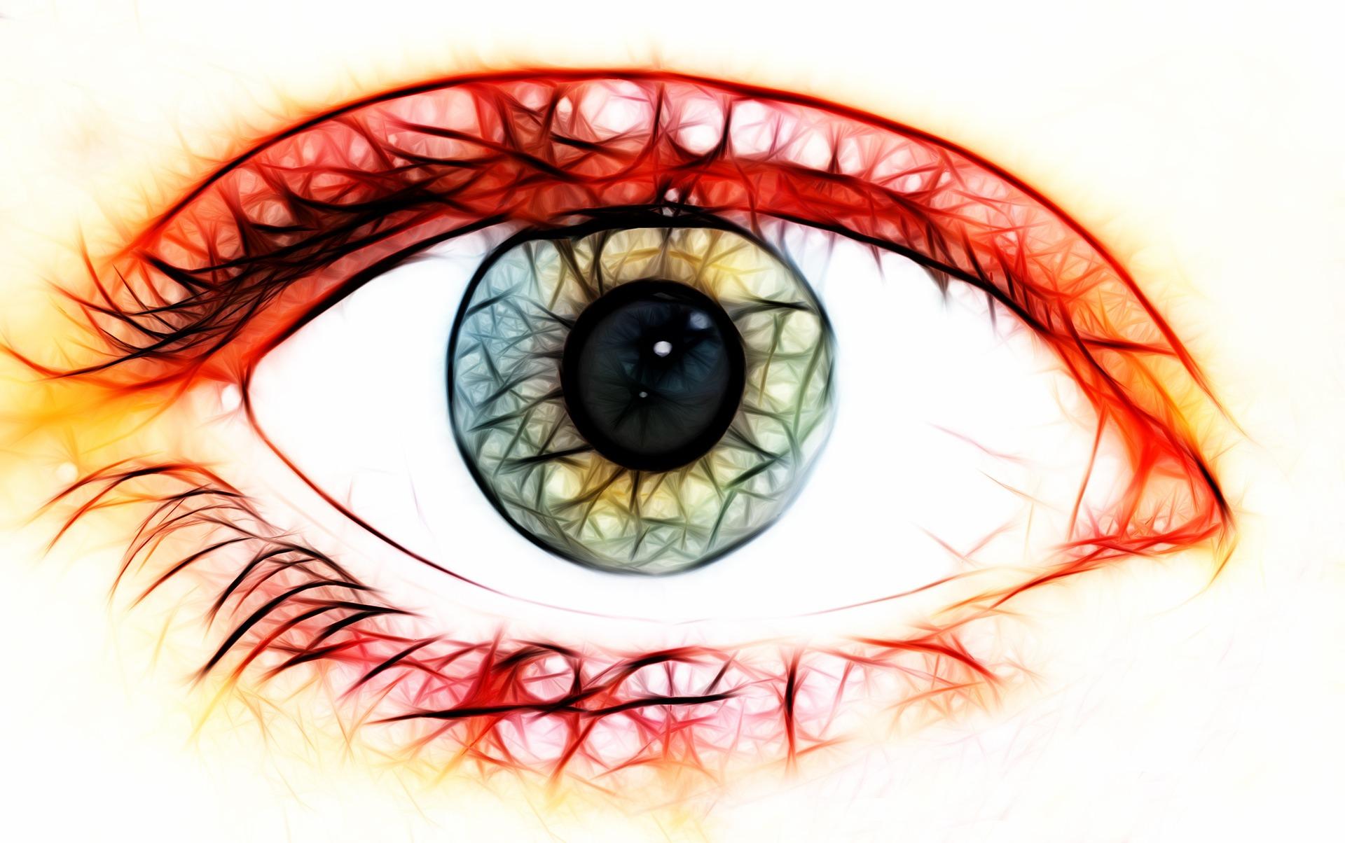 Children's Mental Health Lacuna eye art
