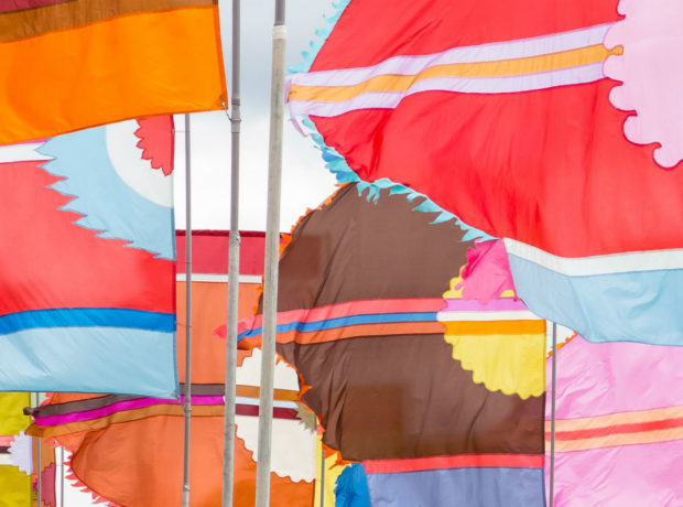 WOMAD flags 2015