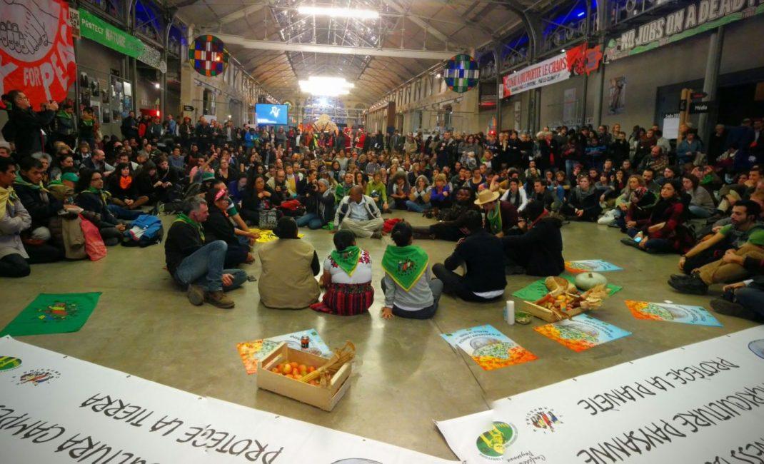 Via Campesina - A discussion run by La Via Campesina at the ZAC (Photo by La Via Campesina)