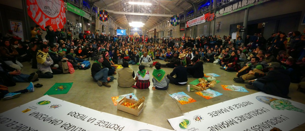 Via Campesina - A discussion run by La Via Campesina at the ZAC (Photo by La Via Campesina)