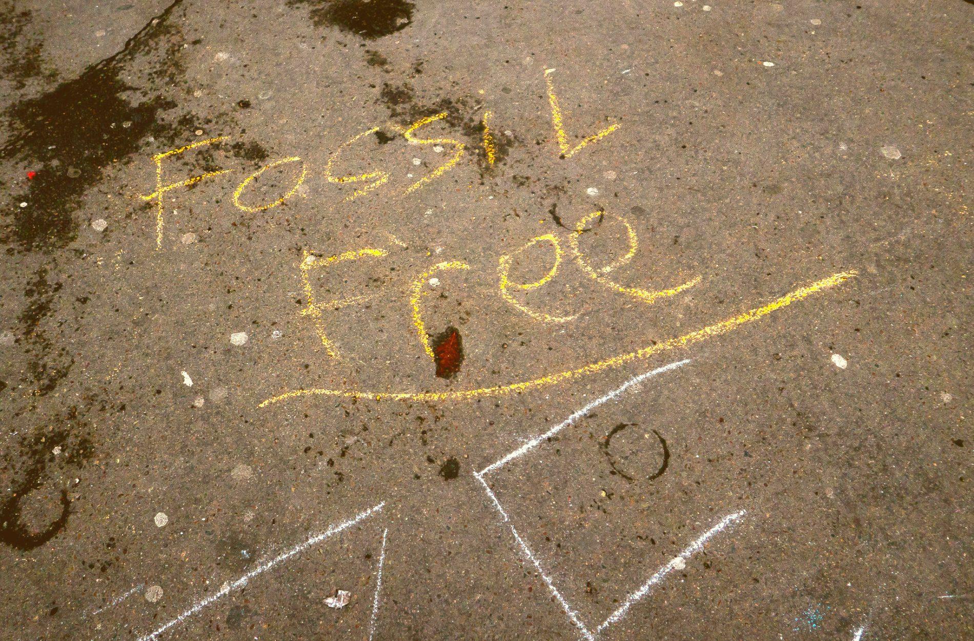Fossil free by Julien B.