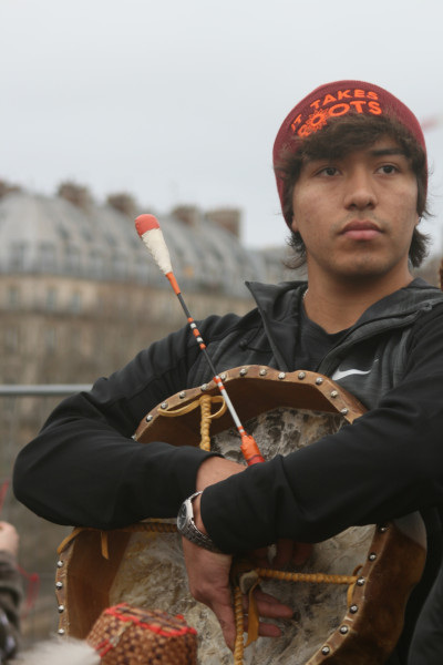 Matthew Jefferson of the Lummi Nation