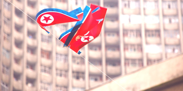 North Korean Flag by (stephan)