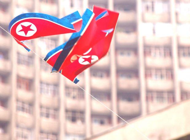 North Korean Flag by (stephan)