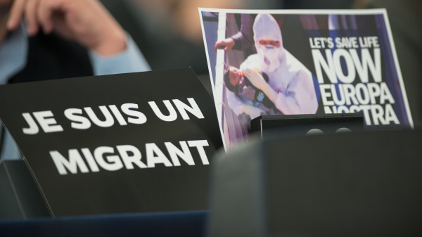 """Je suis un migrant"""