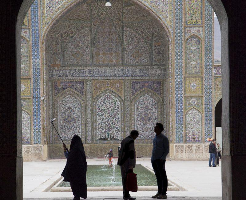 Vakil mosque, Shiraz. Photo by Fabrizio Saglia.