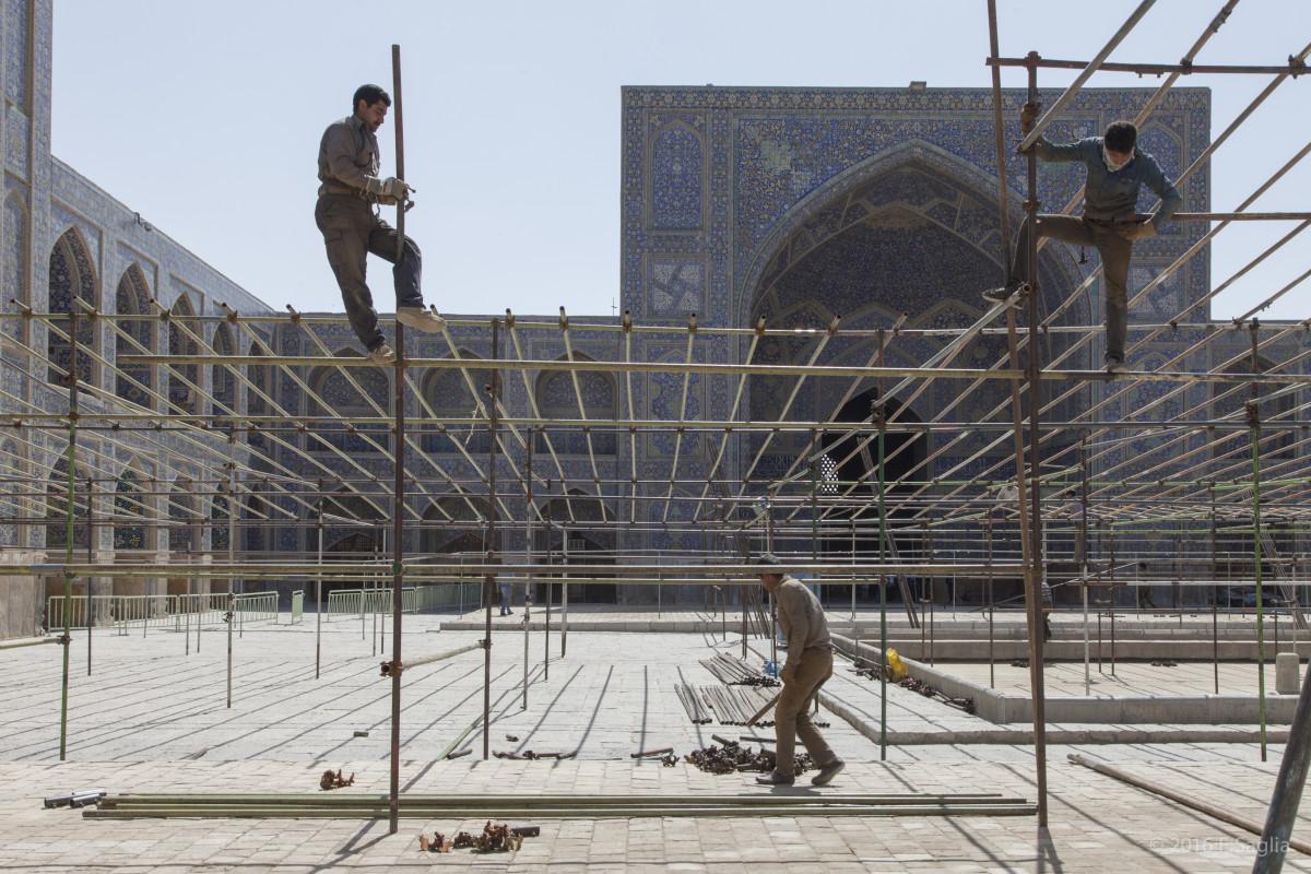 Shah mosque, Isfahan. Photo by Fabrizio Saglia.