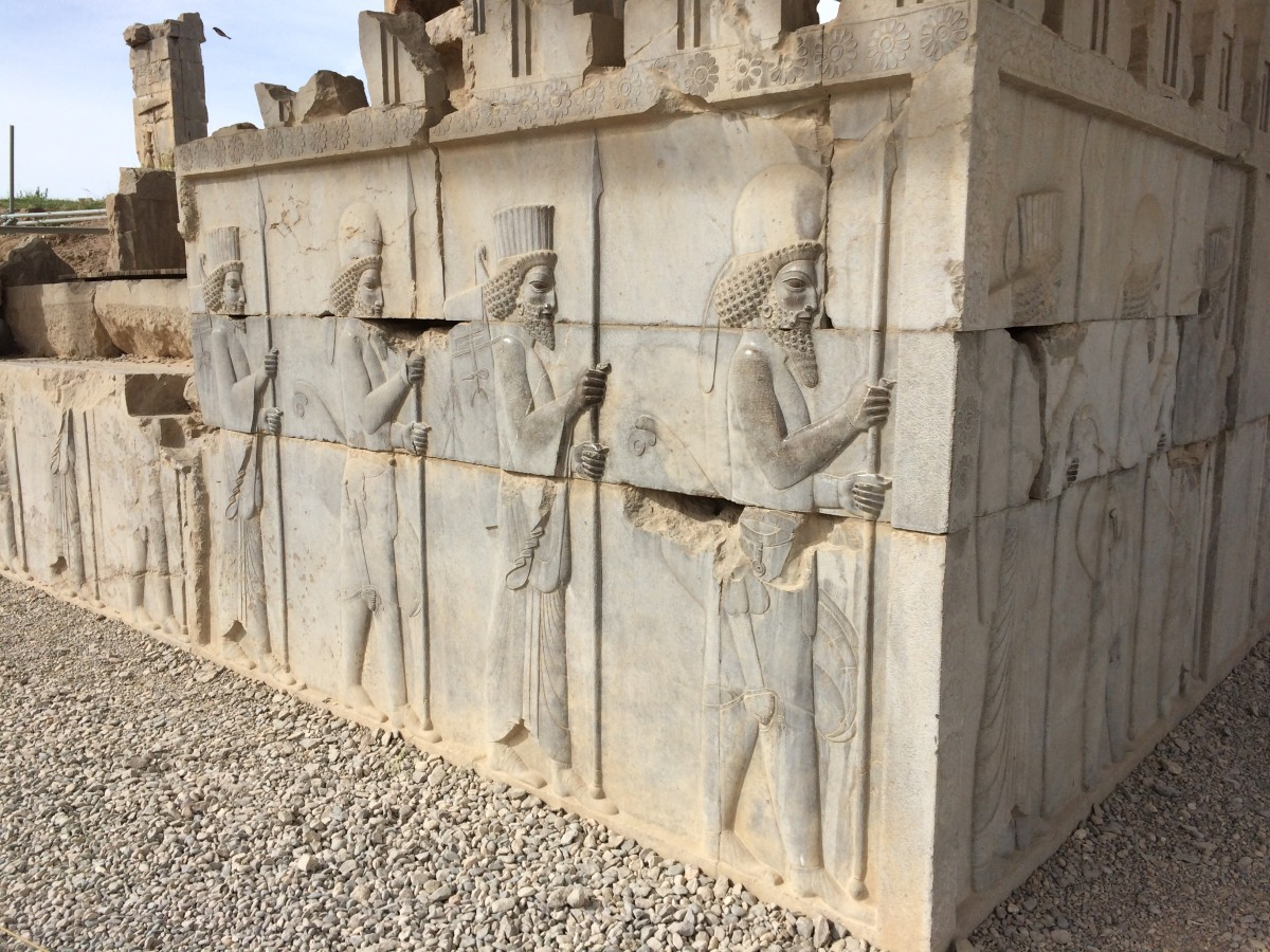Persepolis. Photo by Chiara Ferroni.