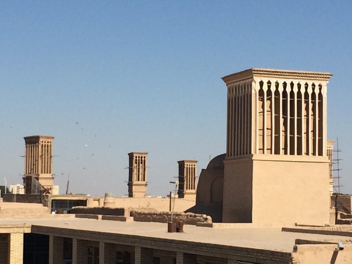 Yazd wind towers. Photo by Chiara Ferroni.