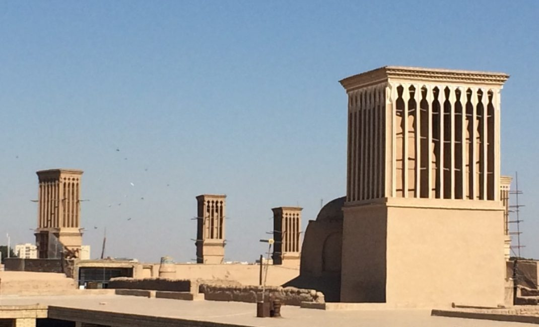 Yazd wind towers. Photo by Chiara Ferroni.