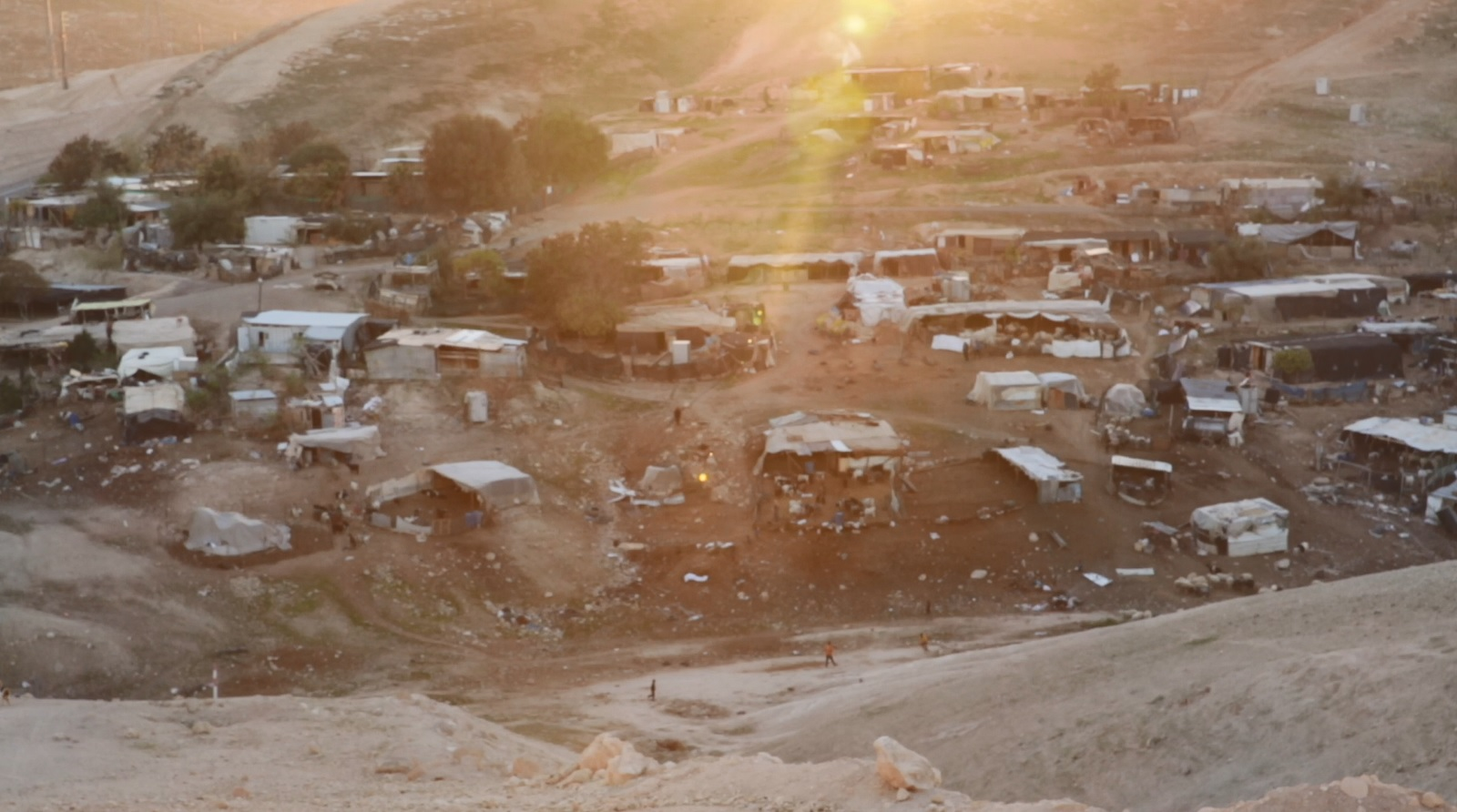 The Bedouin village at Al Khan Al-Ahmar