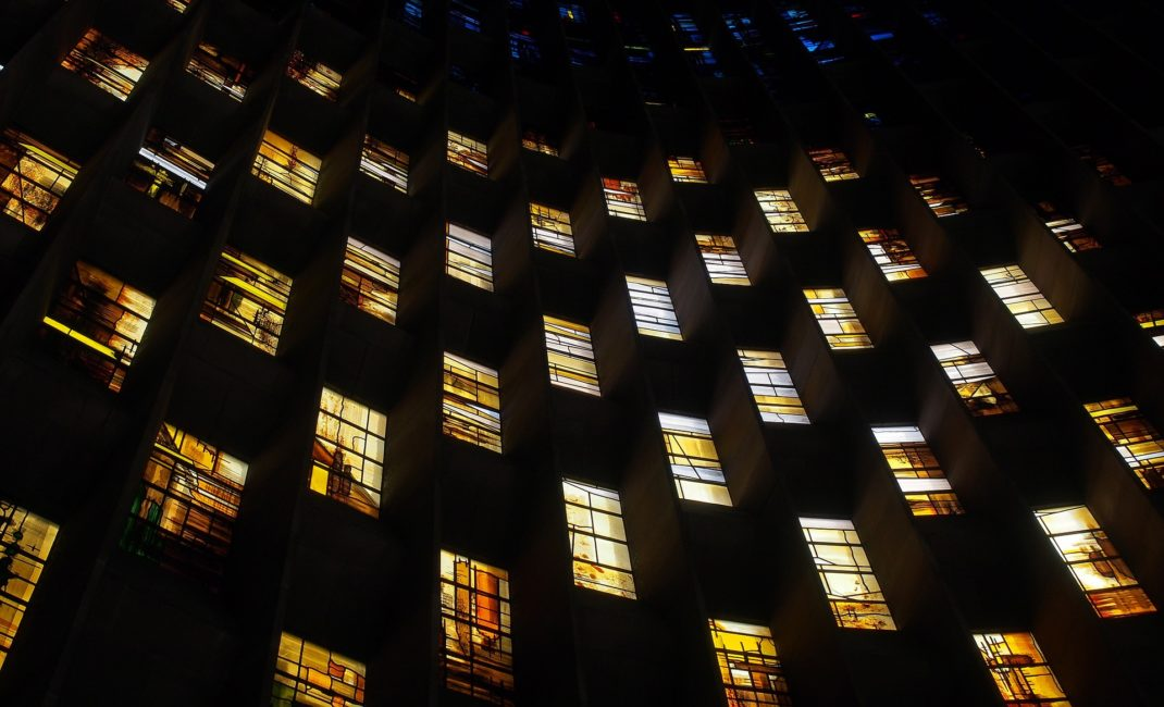 Stained glass in Coventry's new cathedral by Andrew Martin