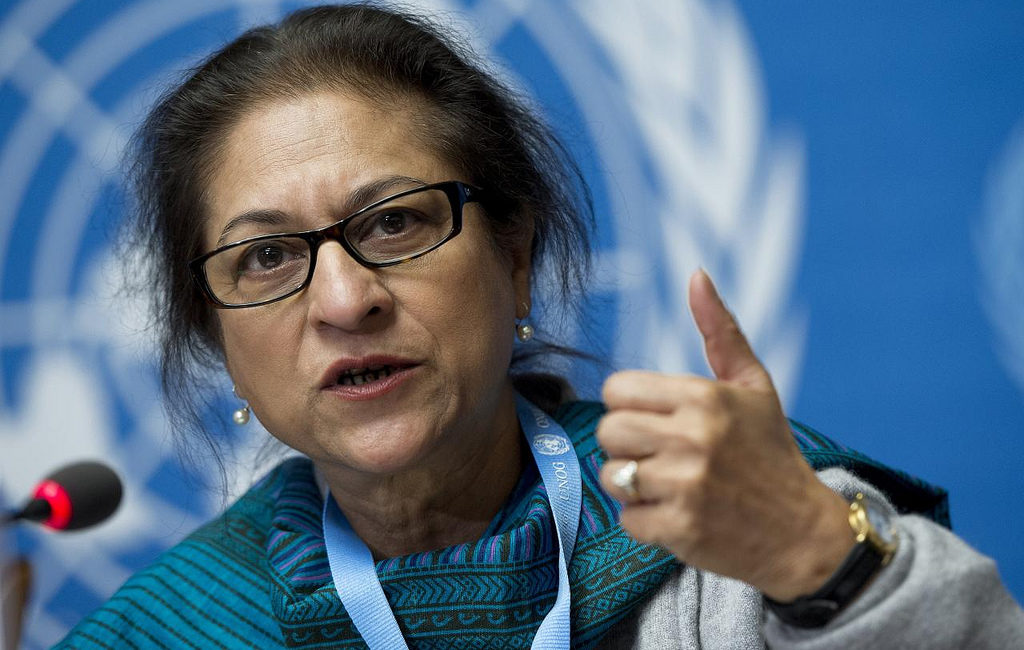Image of Asma Jahangir by UN Geneva