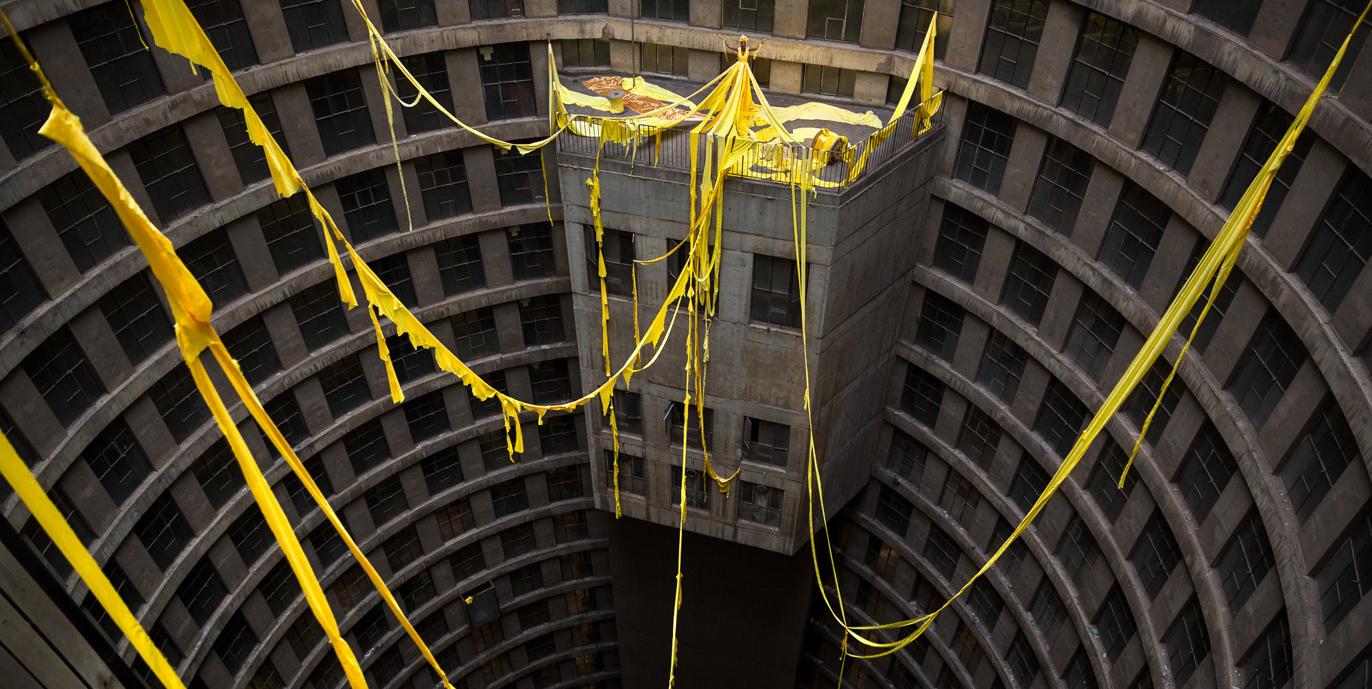 Spiral of containment photo essay Elisa Iannacone