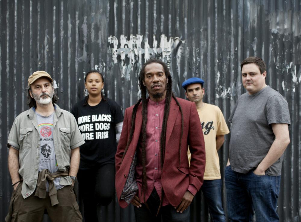 Benjamin Zephaniah and band
