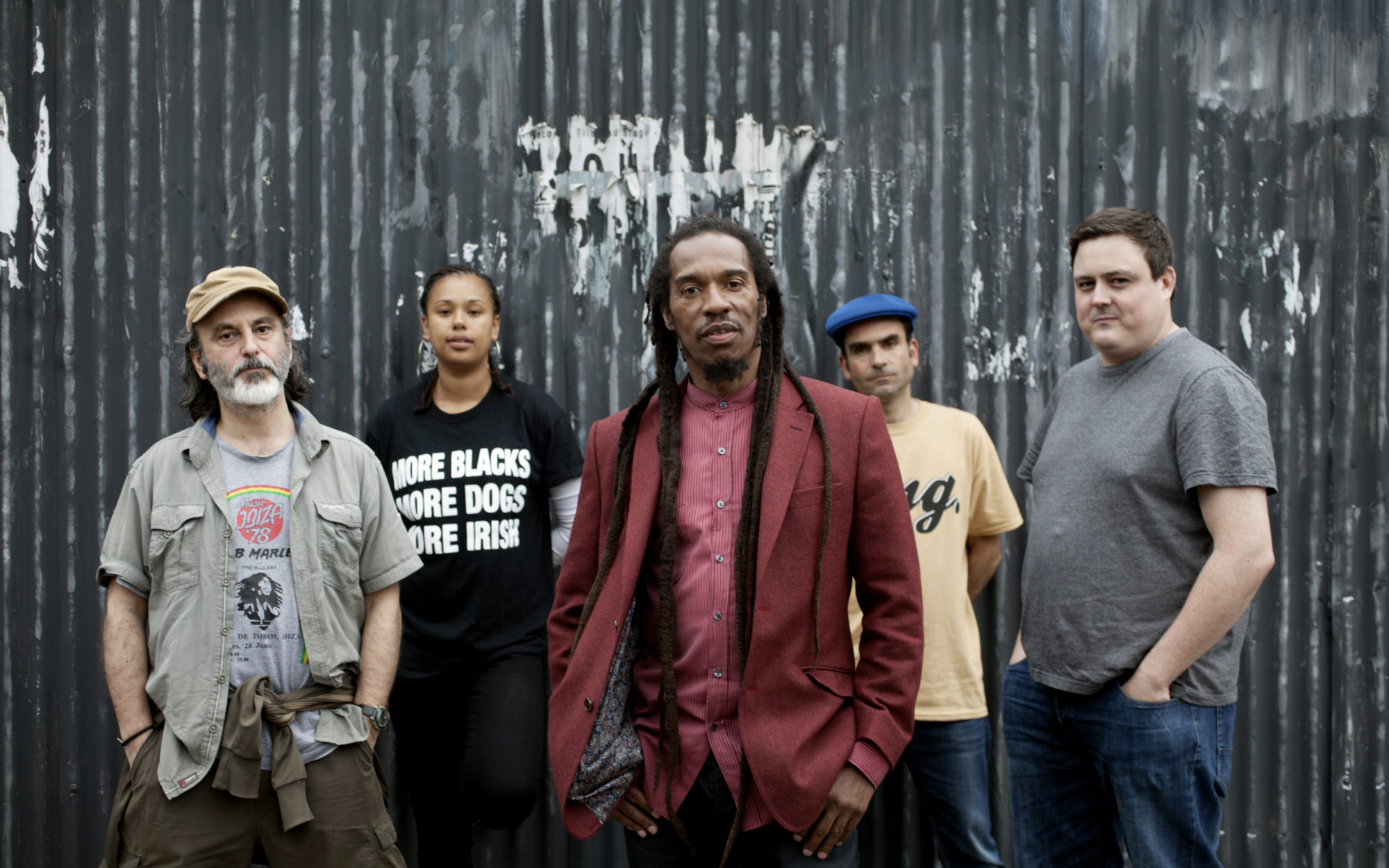 Benjamin Zephaniah and band