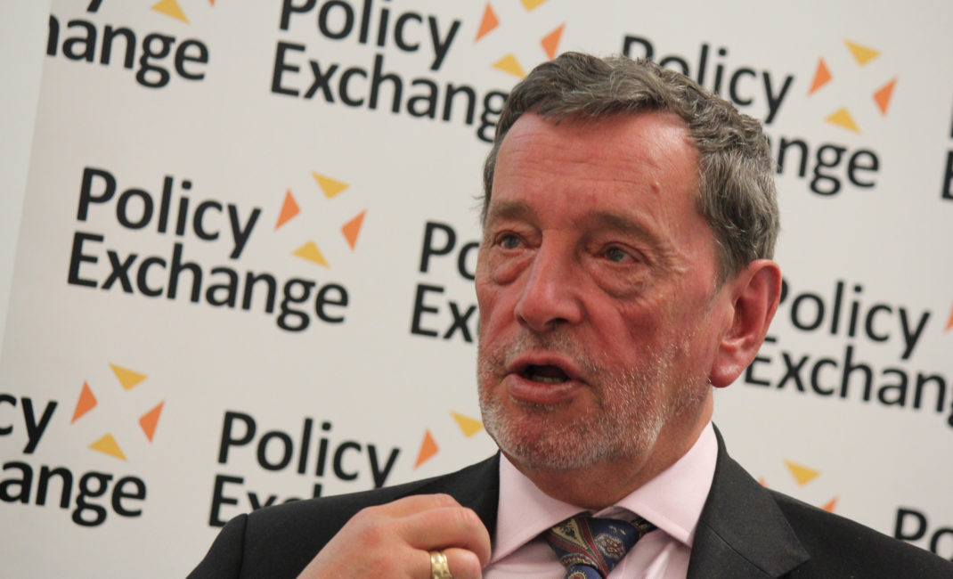 Former home secretary David Blunkett, by Policy Exchange