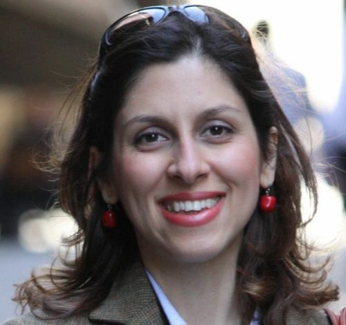 A picture of Nazanin Zaghari-Ratcliffe before she was imprisoned in Iran.