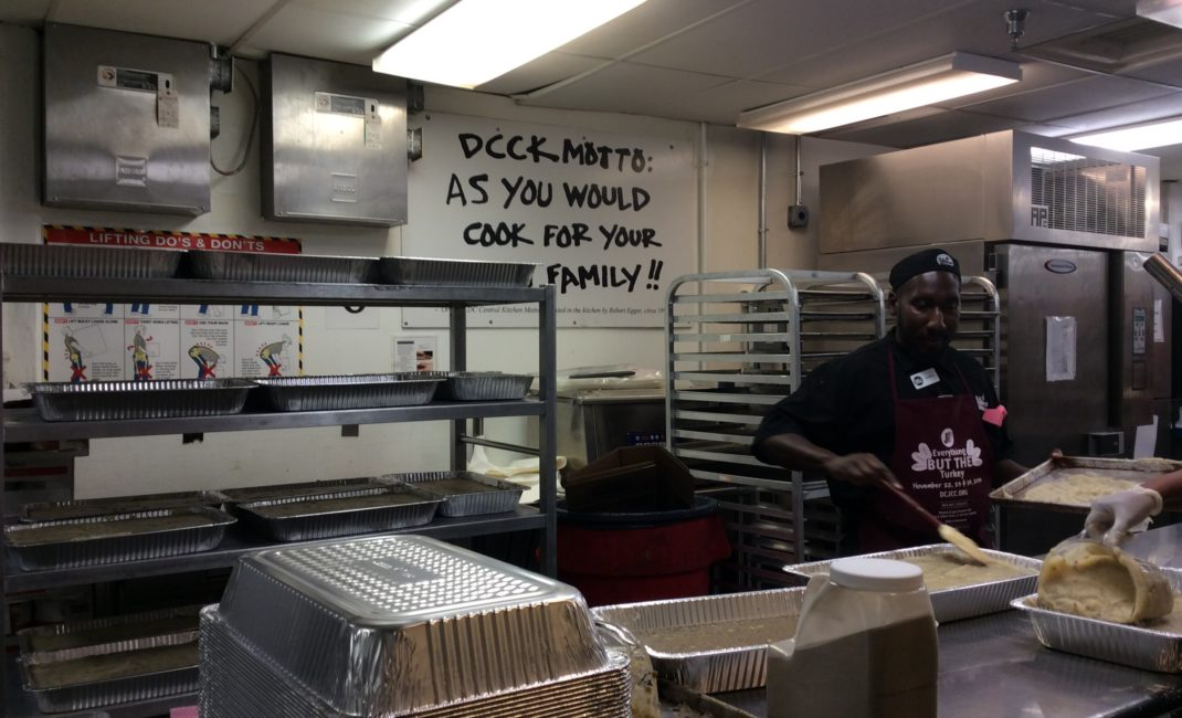 DC Central kitchen: job creation through cooking healthy school meals