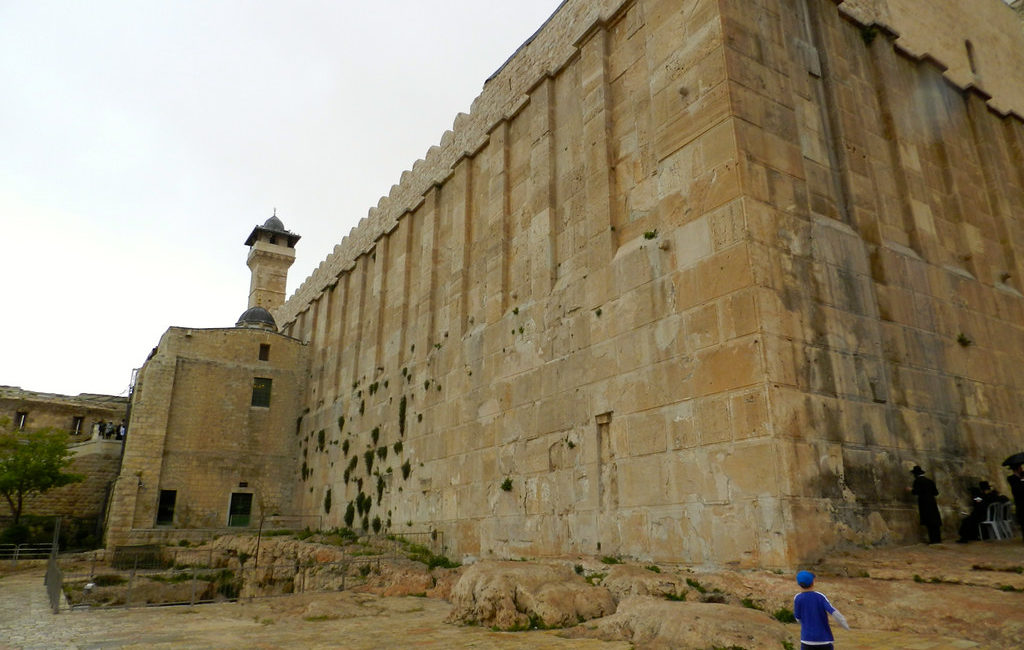 Hebron's Ibrahimi Mosque - by Zach Maddox