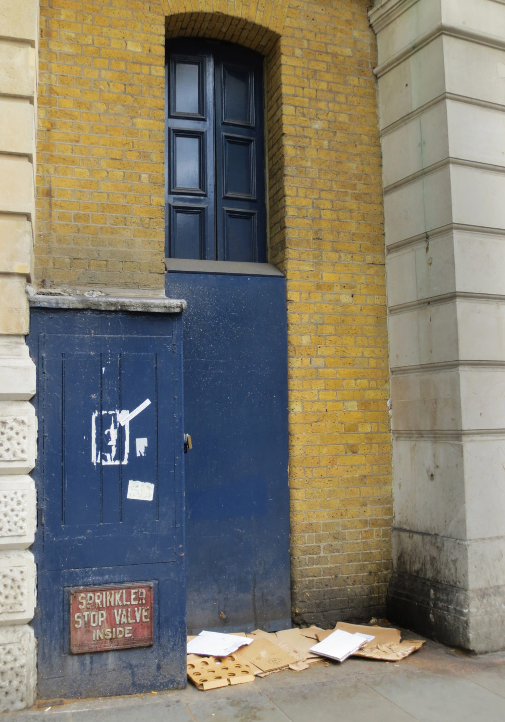 I was sleeping rough in this doorway. An off-duty social worker came and approached me. She promised me she would come back the next day and help me to get some help. The next day I waited over twelve hours desperate for her to return as she had promised. But I never saw her again.