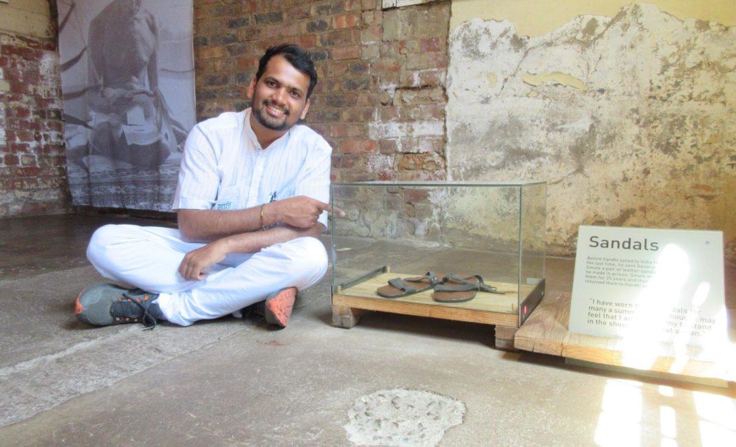 Nitin Sonawane on his four-year peace walk around the world inspired by Gandhi