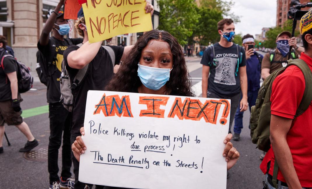 George Floyd Black Lives Matter Protest, 14th & U Streets
