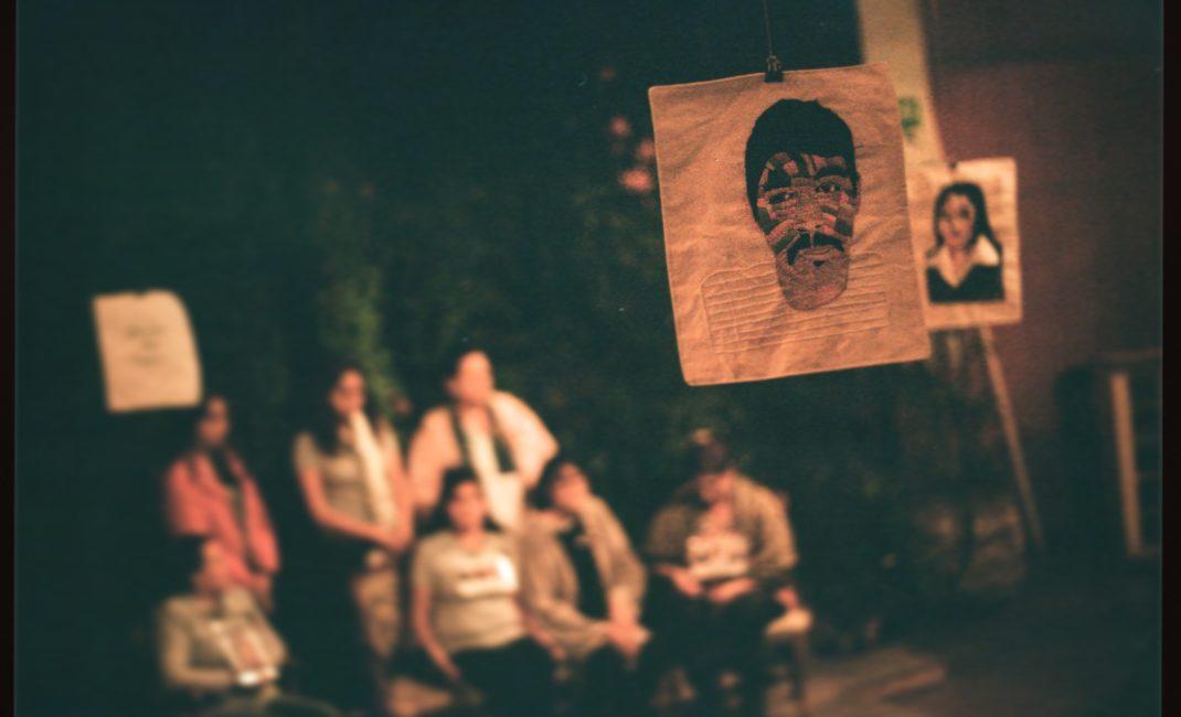 An art exhibition by Familiares por Justicia - by Mauricio Ramirez de Anda