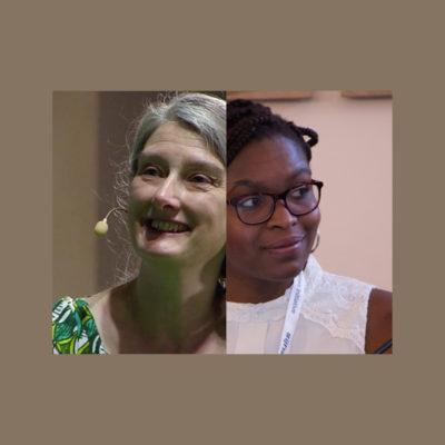 Clare Sambrook and Rebecca Omonira-Oyekanmi